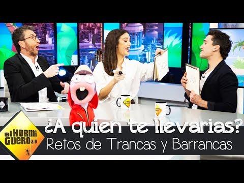 Jaime Lorente se queda perplejo con la respuesta de María Pedraza - El Hormiguero 3.0