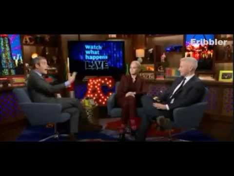 Anderson Cooper Argues With Andy Cohen Over Kathy Griffin's Fashion Police Exit