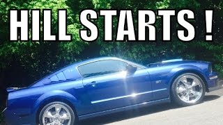 How to Perform a Hill Start in a Stick Shift Vehicle