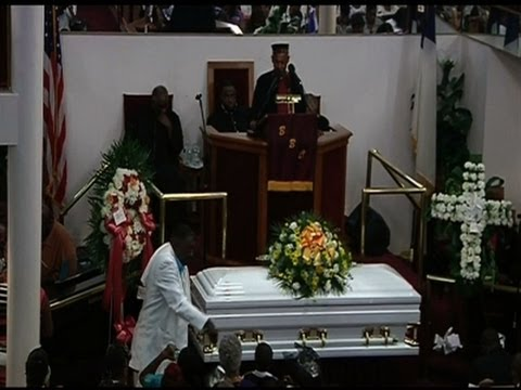 Raw: Funeral for Man Who Died in NYPD Custody