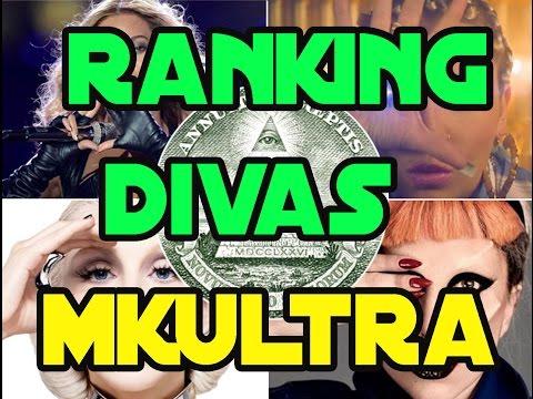 Top Ranking de las 23 Divas MKULTRA parte1