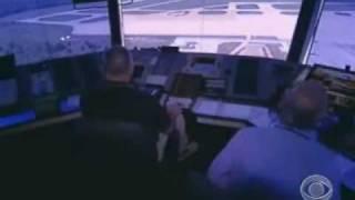 Child mans air traffic control at JFK airport