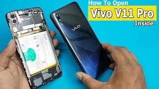 How to Open Vivo V11 PRO  Back Panel & Disconnect Battery || Vivo V11 Pro Disassembly / Teardown