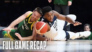 USAB Men's National Team vs. Australian Boomers Team Exhibition | August 22, 2019