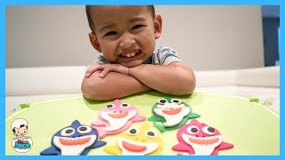 Fun With Baby Shark Play Doh And Sing Along Song