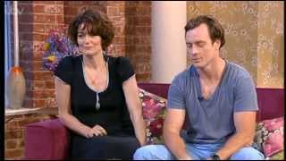 Toby Stephens and Anna Chancellor on This Morning 09-07-2013
