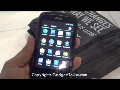 Acer Liquid Z2 Hands on Review at MWC 2013