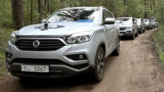 Ssangyong Rexton Trans Eurasia Trail Korea To Uk