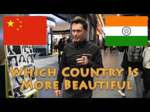 Are INDIAN Girls Or Chinese Girls More BEAUTIFUL-印度女孩或中国女孩更美丽ਭਾਰਤੀ ਗਰਲਜ਼ ਜਾਂ ਚੀਨੀ ਕੁੜੀਆਂ ਹੋਰ ਵਧੀਆ ਹਨ