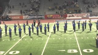 "Texas A&M University-Kingsville Marching Band (First Movement- ""Como La Flor"") 2015"