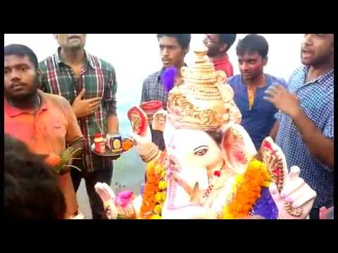 Ganesh Pooja And Visharjan At Iiitdm Jabalpur 2014- Hd video