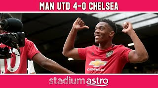 Manchester United 4 - 0 Chelsea | EPL Highlights | Astro SuperSport