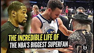 Inside The Incredible Life Of The NBA's BIGGEST Superfan!! 😲😲 Craziest Mansion I've Ever Seen!
