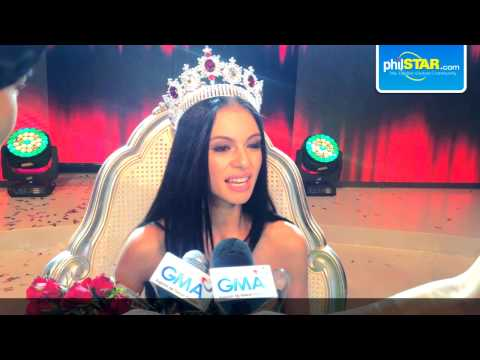 Valerie Weigmann On Winning Miss World Philippines 2014 video