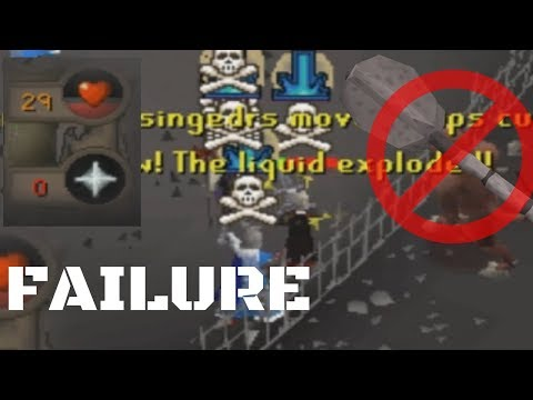 How Not to Get Smited at Revenants   Failed Experiement
