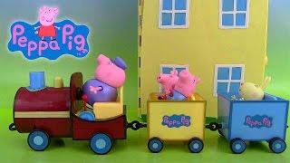 Peppa Pig Train de Papi Pig Grandpa Pig'sTrain with Sounds