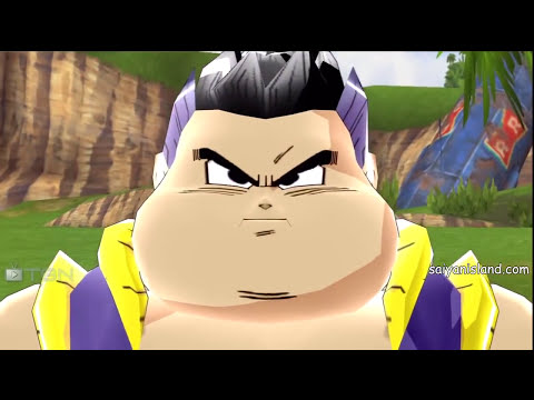 DBZ HD Collection Budokai 3 All Fusions & Failed Fusions