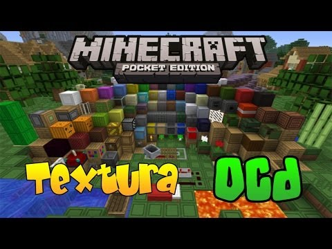 oCd | Review Textura Minecraft PE | 0.8.0