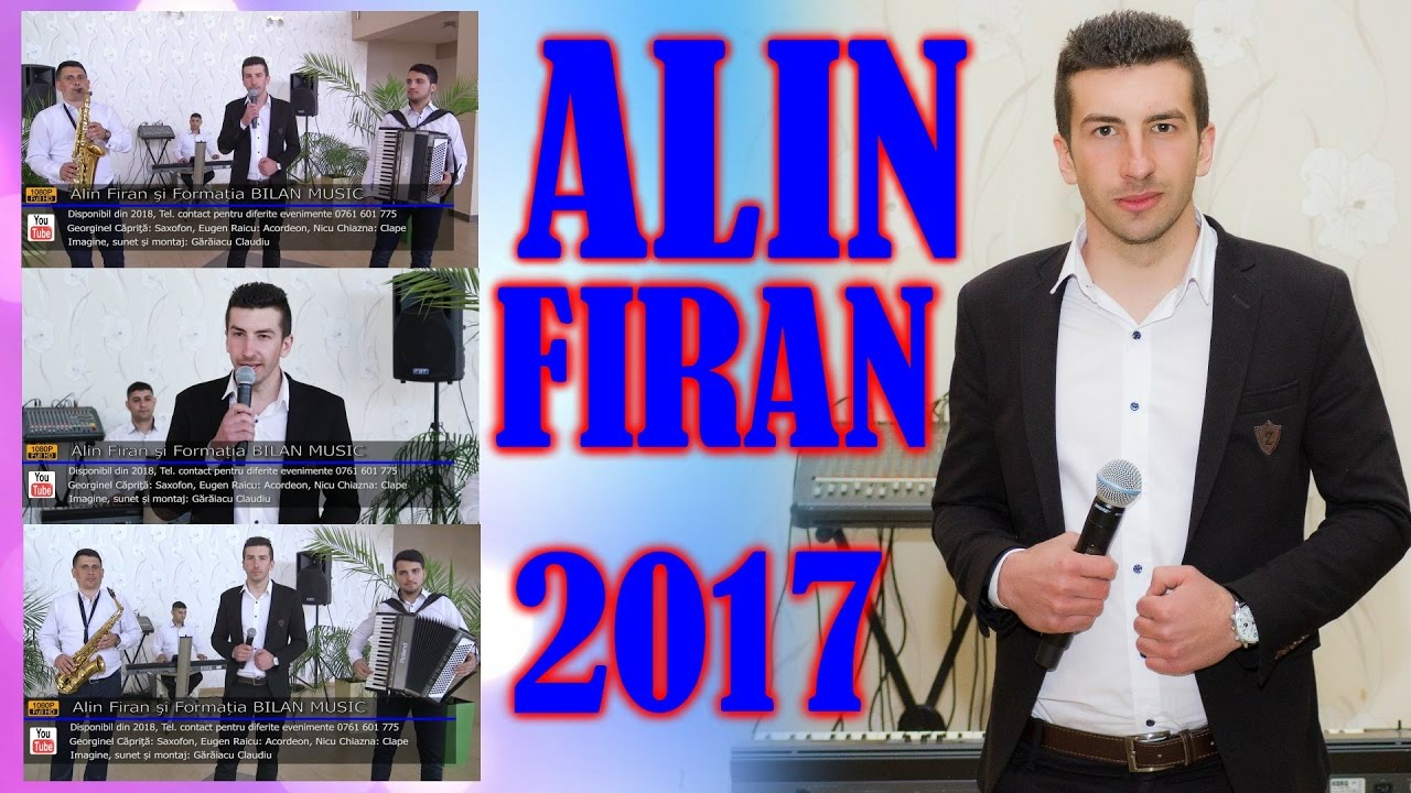 Alin Firan si Formatia BILAN MUSIC   Colaje HORE, SARBE, JOCURI   LIVE 2017   Contact 0761 601 775