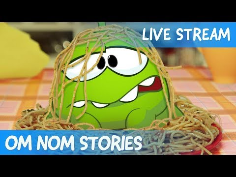 Om Nom Stories -  Live Stream (Funny Cartoons for Kids) - Cut the Rope