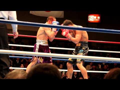 Akinori Watanabe vs Koshinmaru Saito at Korakuen Hall in Tokyo - March 27, 2012