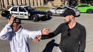 HANDCUFF PRANK RESULTS IN POLICE 911 CALL! *ALEX CHOI EPIC FAIL*