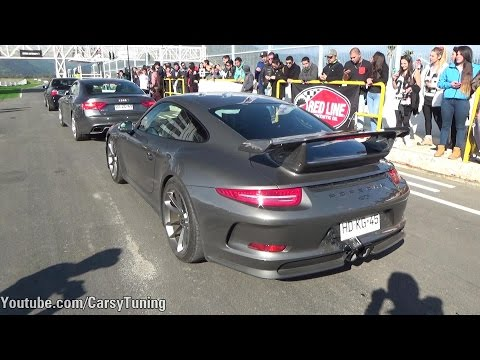 Porsche 911 991 GT3 - In Action at Track