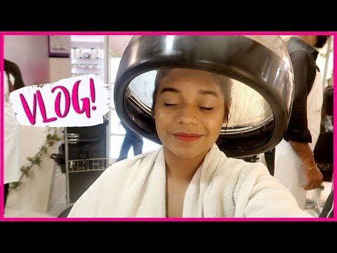 VLOG 74!! A day filled with pamper || Miss Pink Shoes