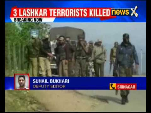 Encounter underway in Kupwara, 3 terrorists killed