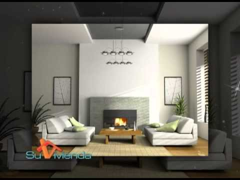 Su vivienda decoraci n minimalista youtube for Decoracion casa 90m2