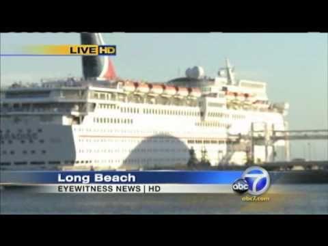 Carnival Splendor Cruise Ship Catches Fire Youtube