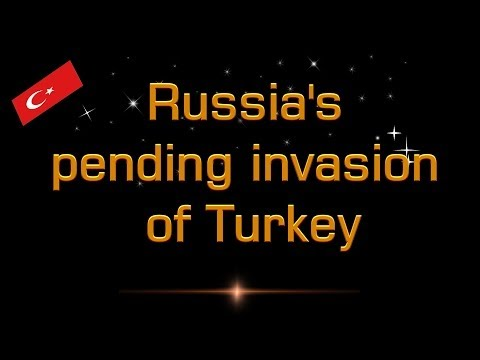Russia's pending invasion of Turkey The king of the North shall push against him Mr.Matt Davies HD