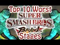Top 10 Worst Super Smash Bros. Brawl Stages