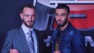 Press Conference FIGHTSENSE presents Enfusion Live #44 The Hague 03.12.2016
