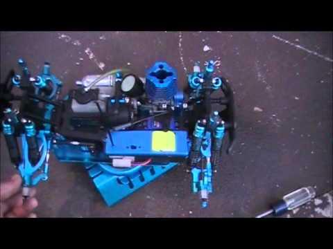 REDCAT RACING VOLCANO S30 NEW BLUE PAINT!!.wmv
