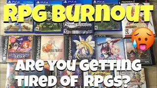 Burned out on RPG games