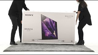 Sony - BRAVIA - Unboxing the A9F/AF9 series