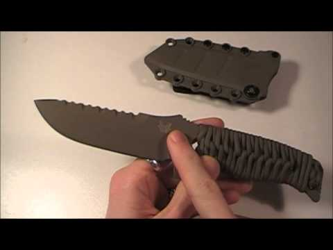 Taking A Look At The Benchmade 375 Adamas Fixed  Blade!