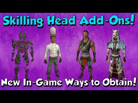 Update! Head Add-ons Obtainable In-game! [Runescape 3] Info & Analysis
