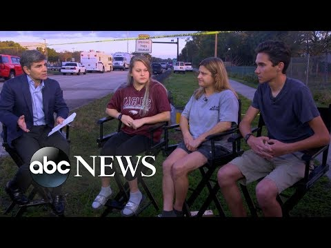 Students describe moments of deadly high school shooting