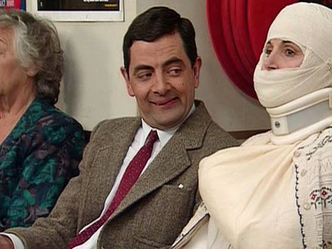 Mr Bean at the Hospital