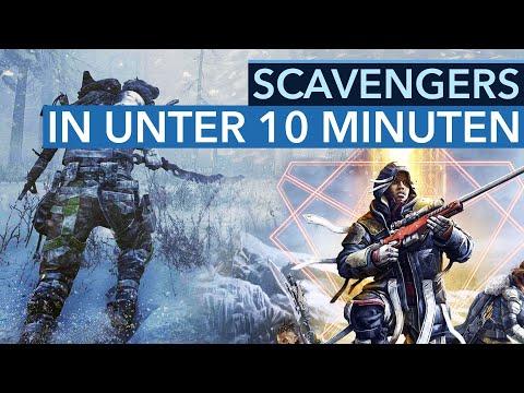 """SCAVENGERS wird einer der """"coolsten"""" Shooter 2021 - Gameplay-Preview"""