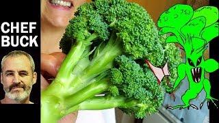 Raw Broccoli Recipe for People Scared of Broccoli