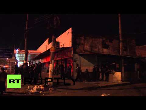 Brazil: Favela dwellers hold vigil for nine killed in police raid