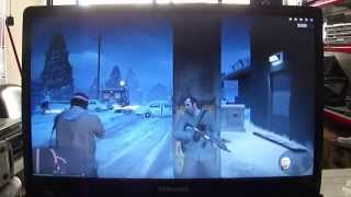Samsung NP300E5A Notebook GTA 5 - GTA V Game Playing