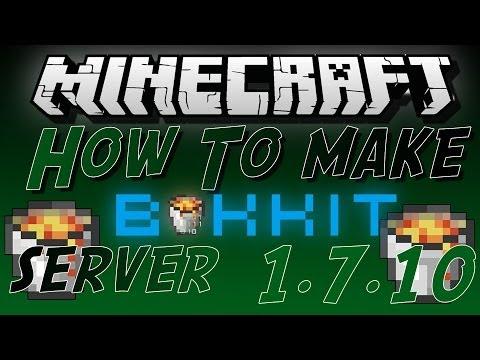 How To Make A Minecraft Bukkit Server Portforwarded For 1.7.10 | Step-By-Step |