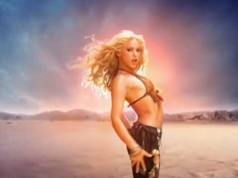 Shakira - Whenever Wherever LYRICS (FULL HD)