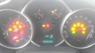 Chevrolet Cruze Diesel -14 Cold Start