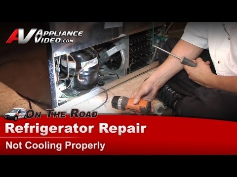 Refrigerator Repair & Diagnostic - Not Cooling Properly - Electrolux - Frigidaire -PLHS37EGSB1