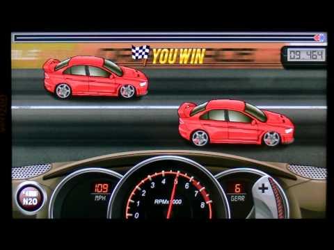 Drag Racing 9.464 Tune Mitsubishi Lancer Evo X GSR LVL 5 1/4